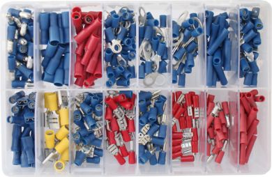 BULK 1000 X BLUE 5.0MM MALE BULLET WIRE CRIMPS WIRING TERMINALS CONNECTORS WT64