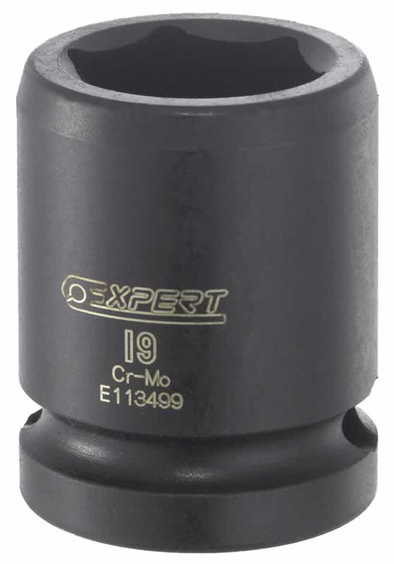 "Beta Tools 720Ls 18-Impact Socket,1//2/"" Female Drive,Long,Slim Phosphatized 18 mm"